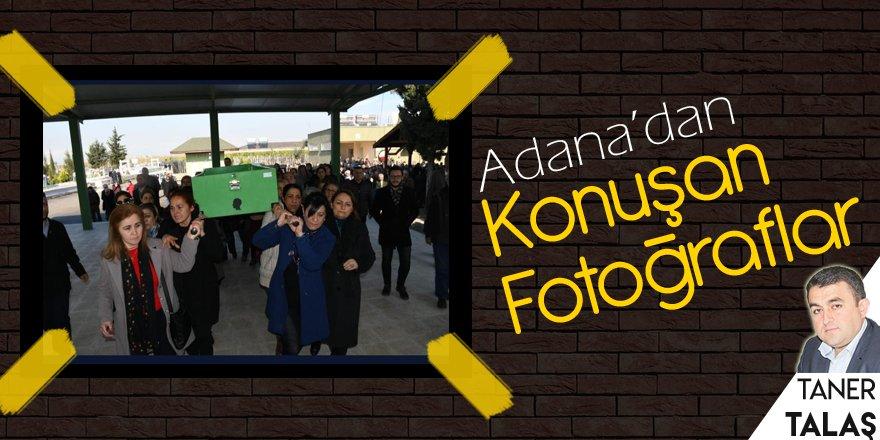 Adana'da tabutu kadınlar taşıdı