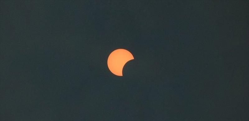 Güneş tutulması gerçekleşti 9