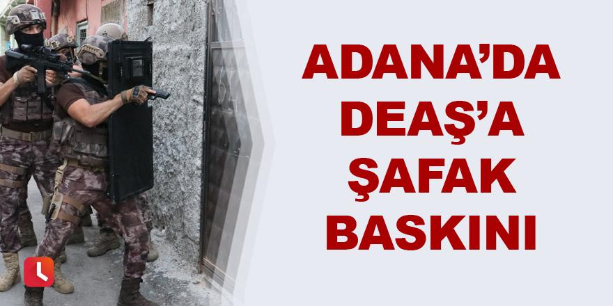 Adana'da şafak vakti DEAŞ'a baskın