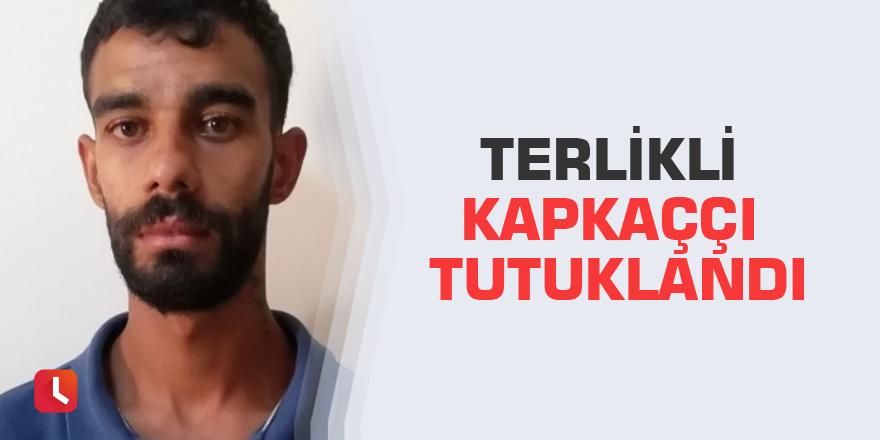Terlikli kapkaççı tutuklandı