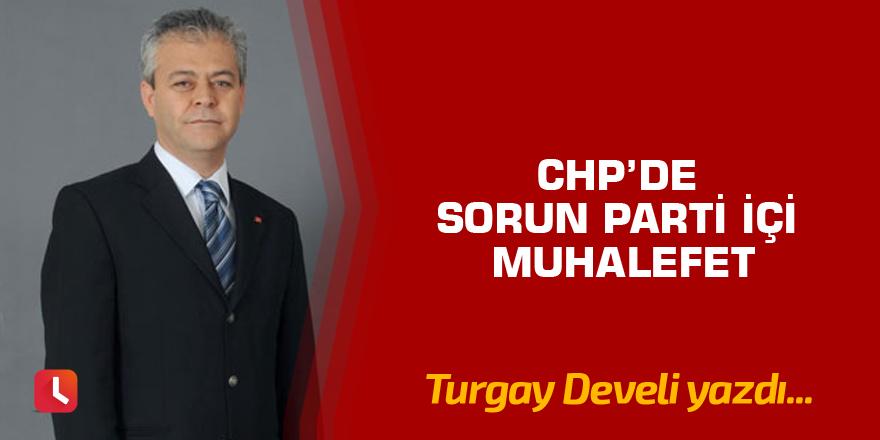 CHP'de sorun parti içi muhalefet
