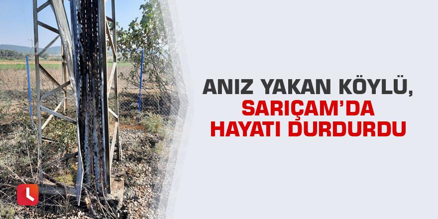 Anız yakan köylü, Sarıçam'da hayatı durdurdu