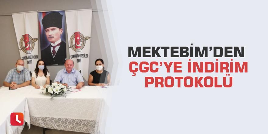 Mektebim'den ÇGC'ye indirim protokolü