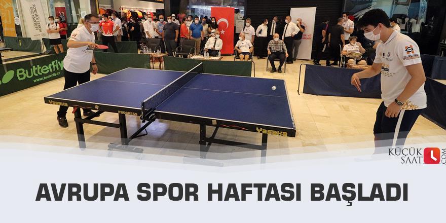 Avrupa Spor Haftası başladı