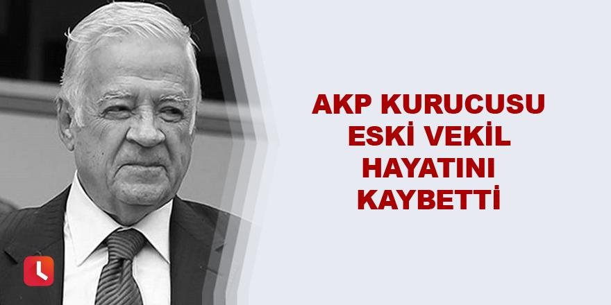 AKP Adana Eski Milletvekili hayatını kaybetti