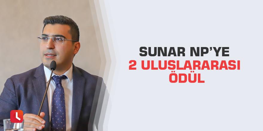Sunar NP'ye 2 uluslararası ödül