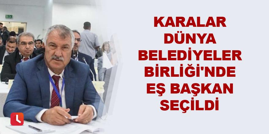 Karalar DBB'de eş başkan seçildi