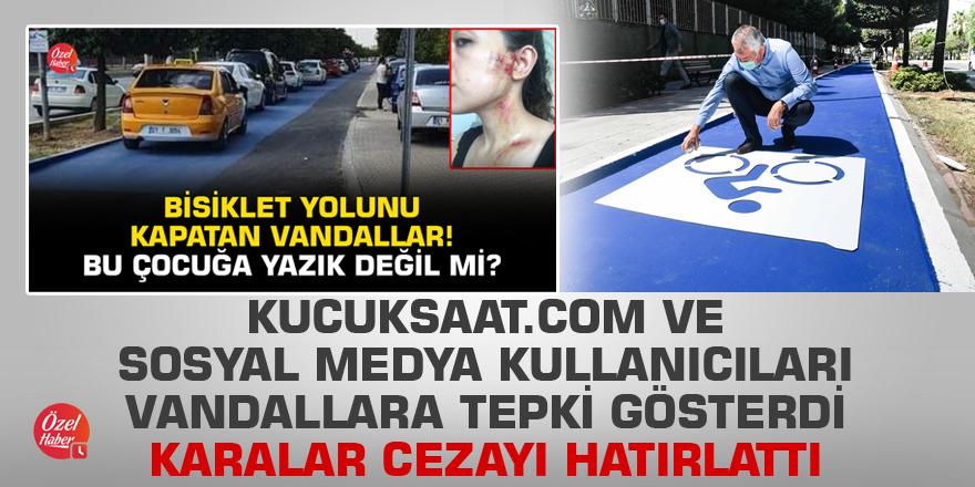 Kucuksaat.com ve sosyal medya kullanıcıları tepki gösterdi, Karalar cezayı hatırlattı