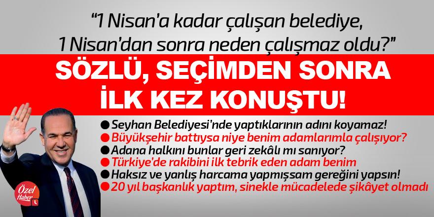 Sözlü: 1 Nisan'dan sonra Adana'da ne oldu?