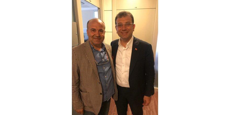 Namık Kemal Biçer, Ekrem İmamoğlu ile baş başa görüştü