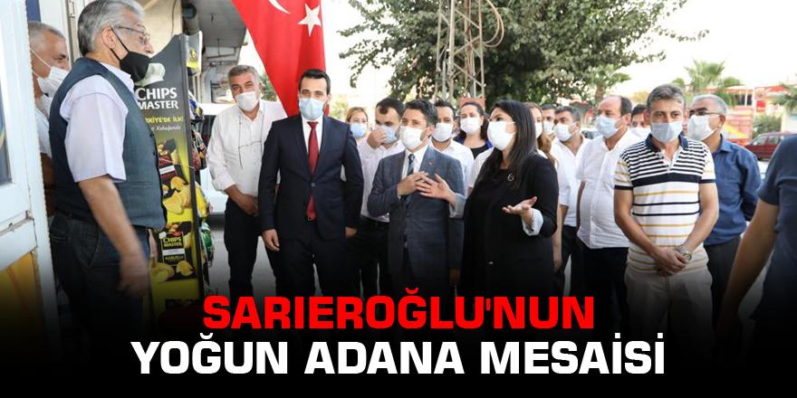 Sarıeroğlu'nun yoğun Adana mesaisi