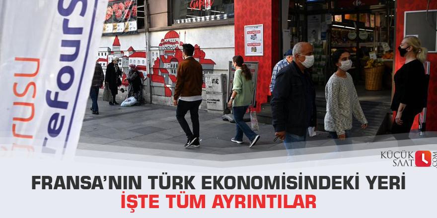 Fransa'nın Türk ekonomisindeki yeri İşte Tüm ayrıntılar