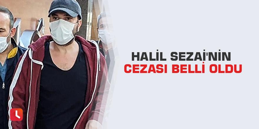 Halil Sezai'nin cezası belli oldu