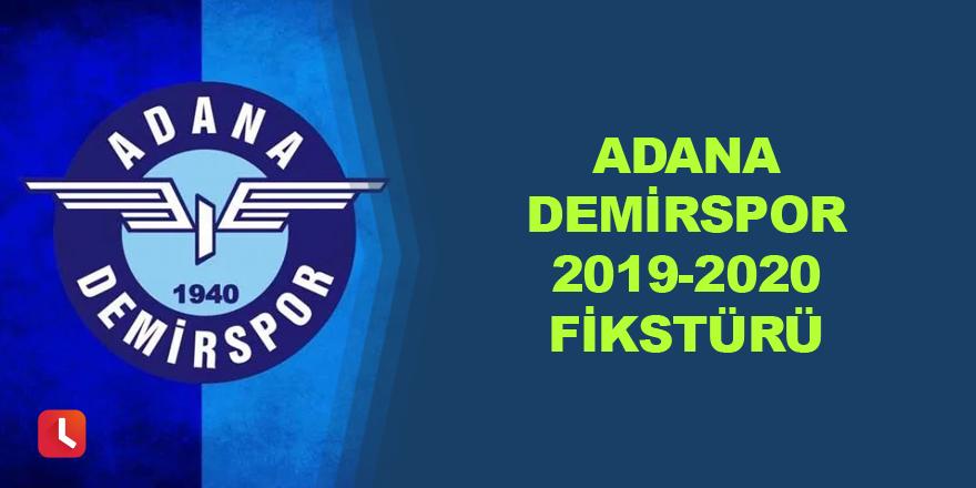 Adana Demirspor Fikstürü