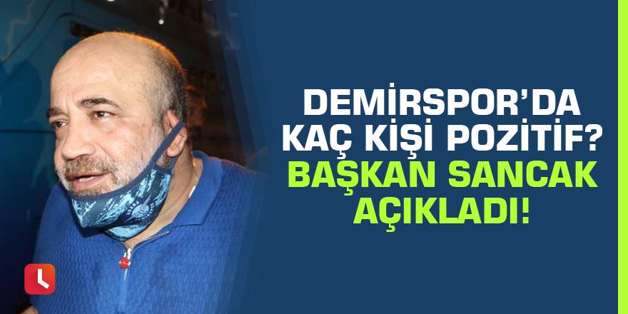 Adana Demirspor'da pozitif vaka sayısı 8 olarak açıklandı