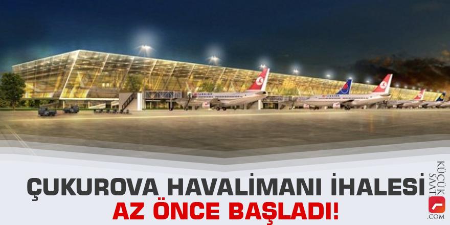 Çukurova Havalimanı ihalesi başladı!
