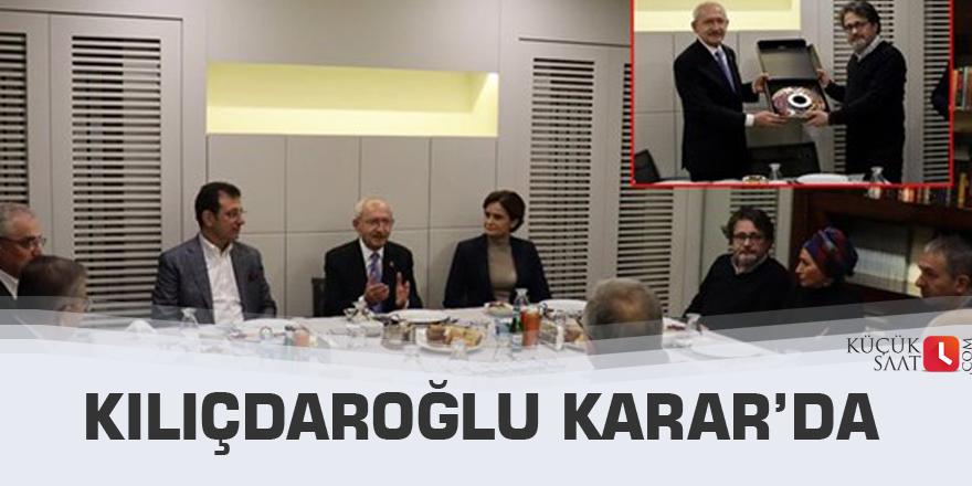 Kılıçdaroğlu Karar'da