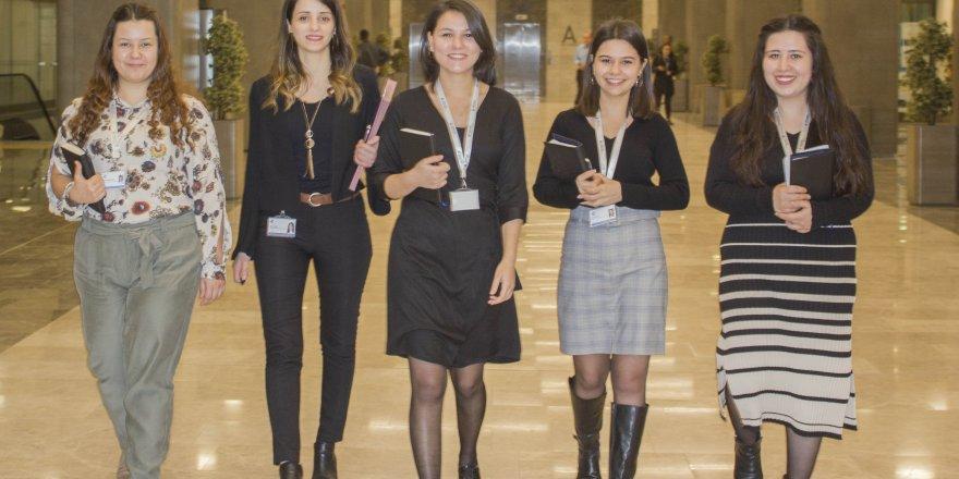 ''Rota Kızlar'' projesi,mutlu çalışma hayatı ile mutlu insan