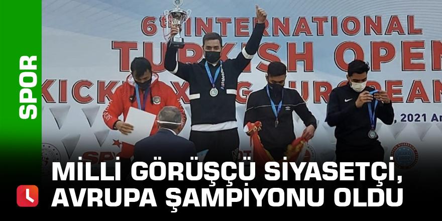 Milli Görüşçü siyasetçi, Avrupa şampiyonu oldu