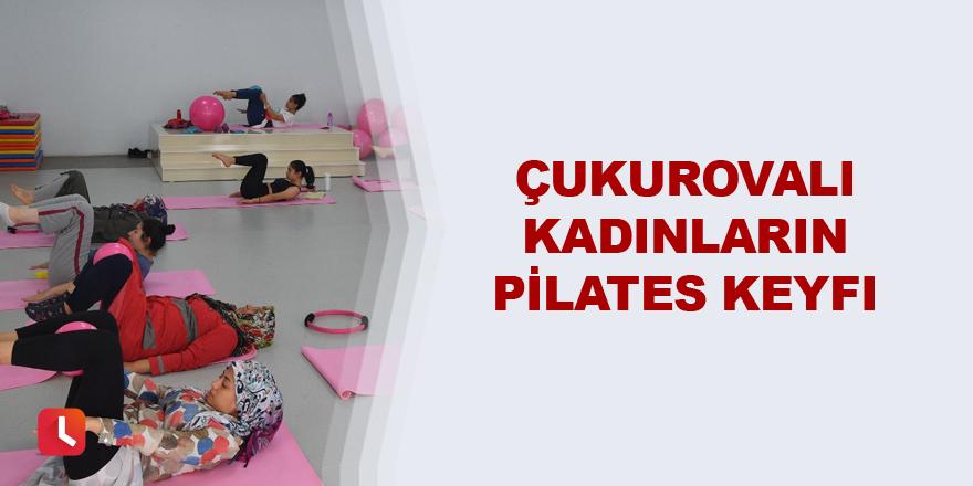 Kadınların pilates keyfi