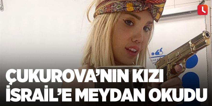 Çukurova'nın kızı İsrail'e meydan okudu