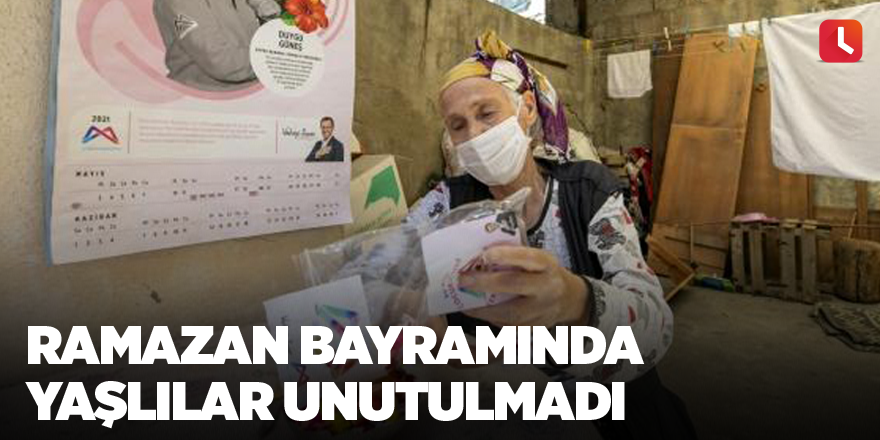 Ramazan Bayramında yaşlılar unutulmadı