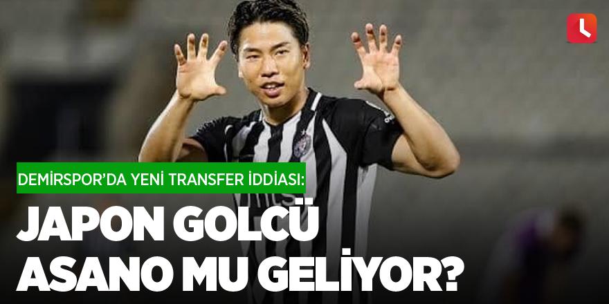 Demirspor'da yeni transfer iddiası: Japon golcü Asano mu geliyor?