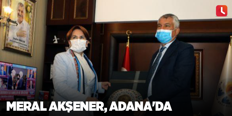 Meral Akşener, Adana'da