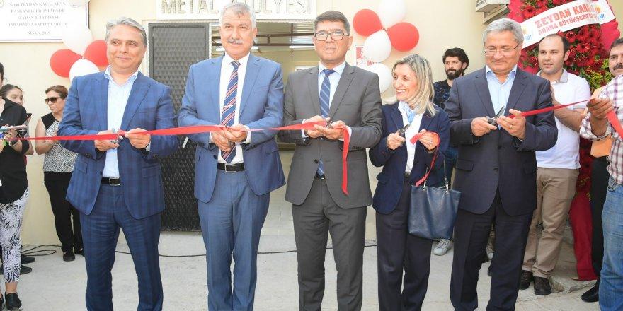 Çukurova Üniversitesi Meslek Yüksek Okulu Metal Atolyesi açıldı