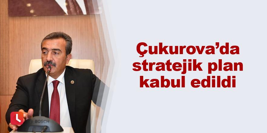 Çukurova'da stratejik plan kabul edildi