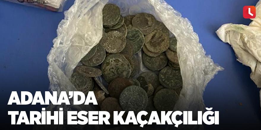 Adana'da tarihi eser kaçakçılığı
