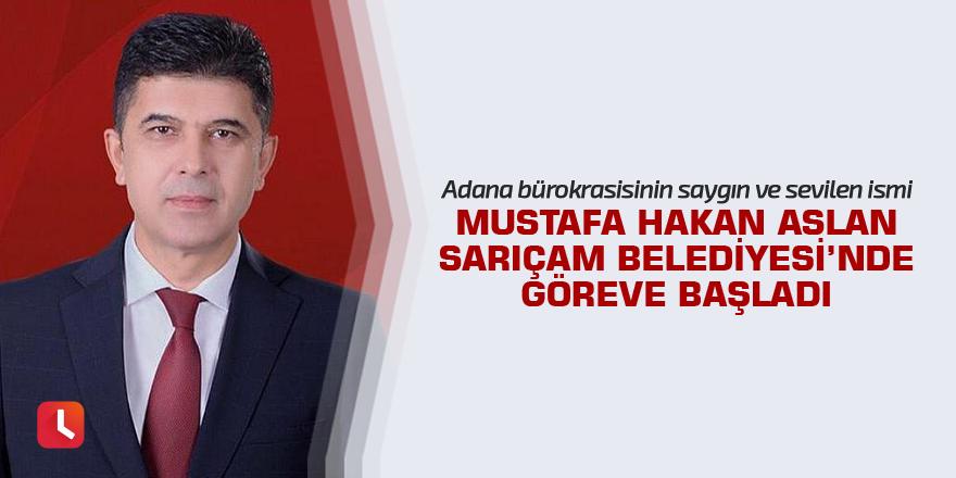 Mustafa Hakan Aslan, Sarıçam Belediyesi'nde göreve başladı