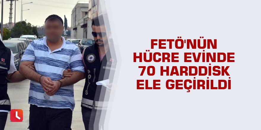 FETÖ'nün hücre evinde 70 harddisk ele geçirildi