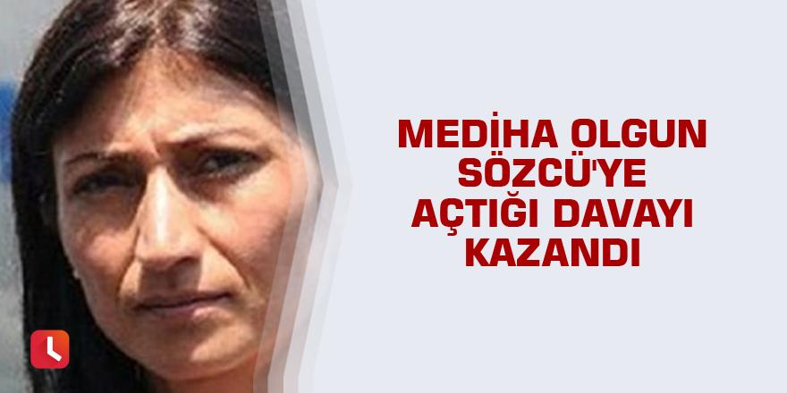 Mediha Olgun Sözcü'ye açtığı davayı kazandı