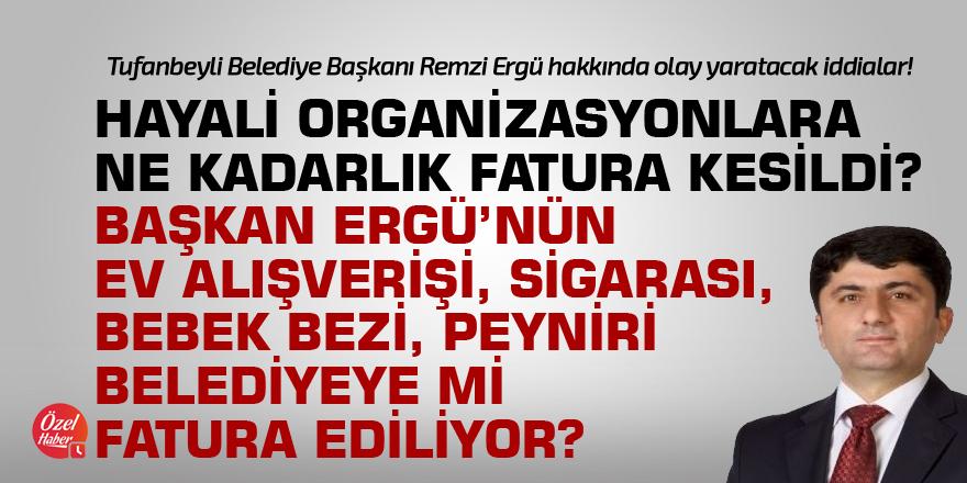 Ergü'nün ev alışverişi belediyeye mi fatura ediliyor?