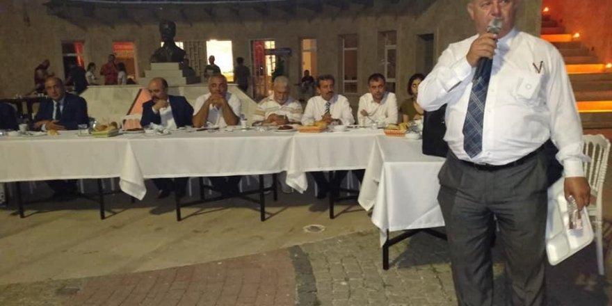 Gazeteciler iftar organizasyonunda buluştu