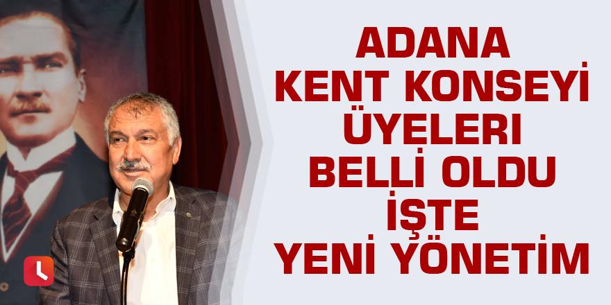Adana Kent Konseyi'nde yeni dönem