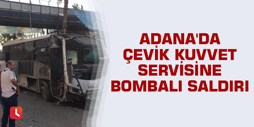 Adana'daki bombalı saldırıda 5 kişi yaralandı