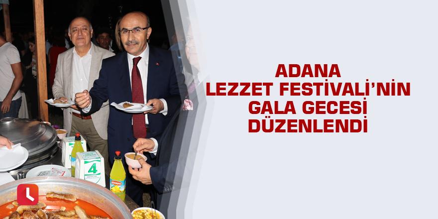 Adana Lezzet Festivali'nin gala gecesi düzenlendi