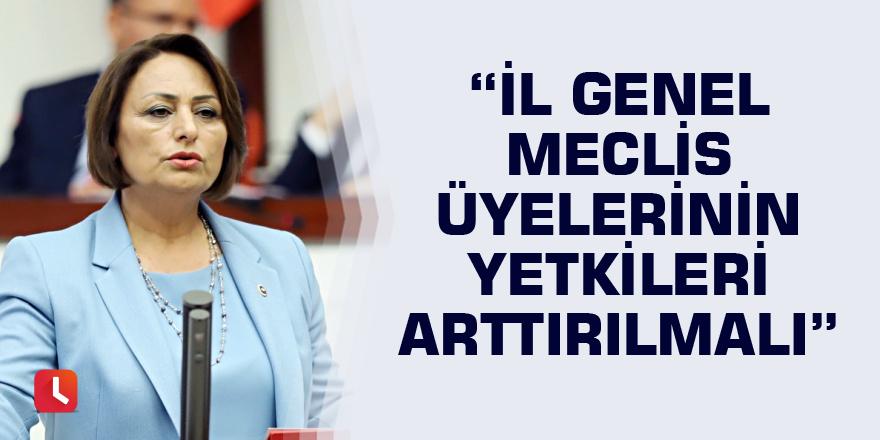 """""""İl genel meclis üyelerinin yetkileri arttırılmalı"""""""