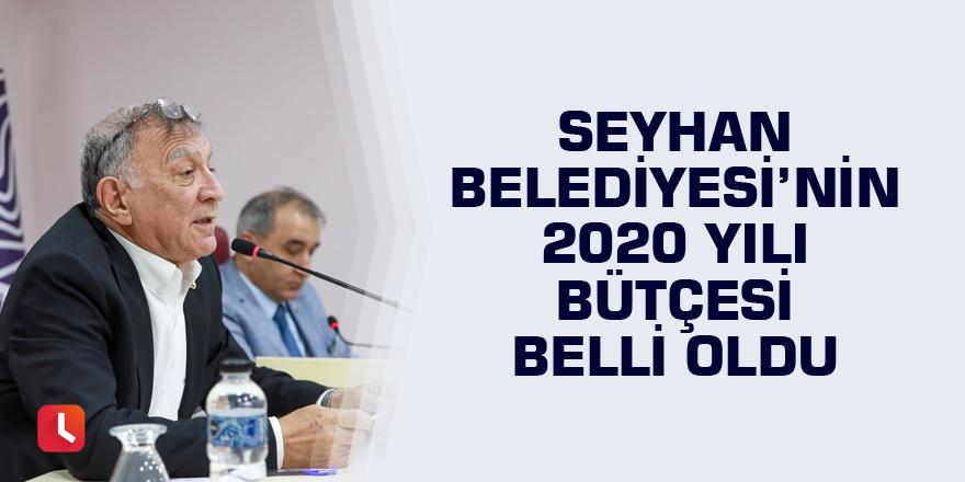 Seyhan Belediyesi'nin 2020 bütçesi belli oldu