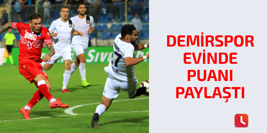 Adana Demirspor: 1 - Fatih Karagümrük: 1
