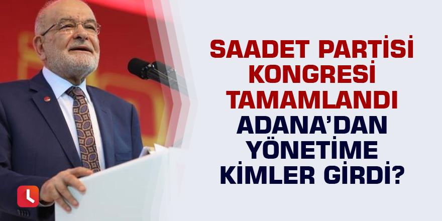SP Kongresi tamamlandı, Adana'dan yönetime kimler girdi?
