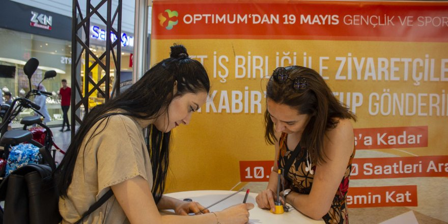 Gençlerden Atatürk'e mektup var..!