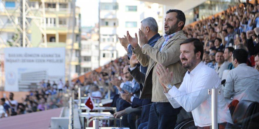 Başkan Kocaispir'den Adana Demirspor'a destek..!