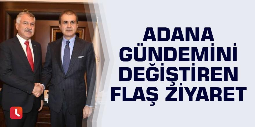 Adana gündemini değiştiren flaş ziyaret
