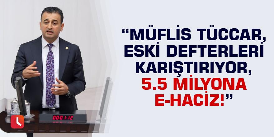 """""""Müflis Tüccar, Eski Defterleri Karıştırıyor, 5.5 milyona e-haciz!"""""""