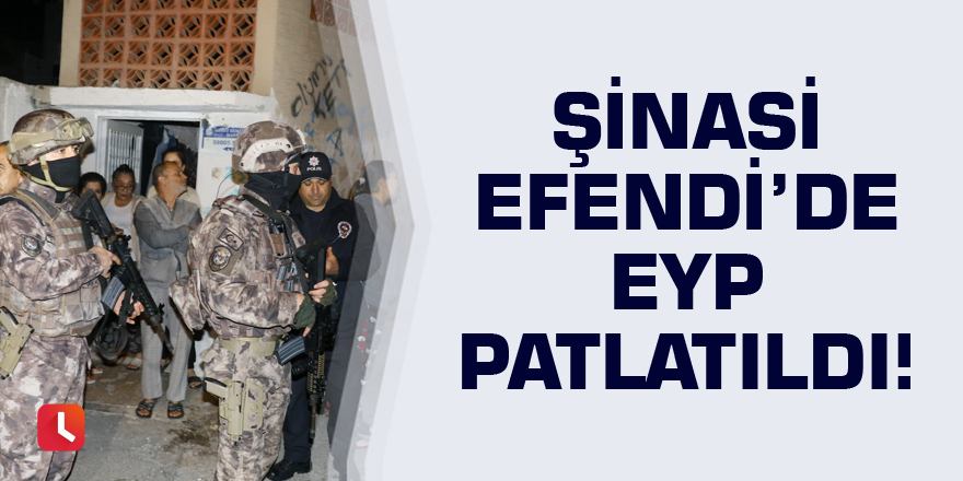 Adana'da sokak ortasında EYP patlatıldı