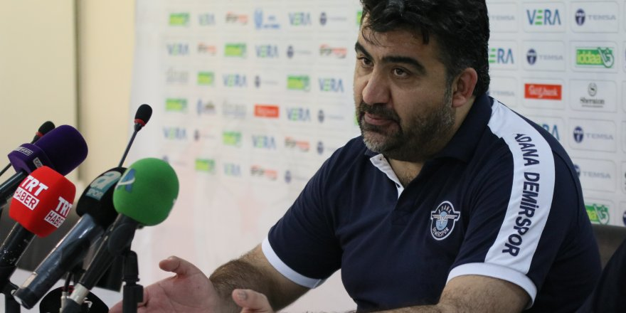 Ümit Özat: Arzumuz Süper Lig'e yükselebilmek