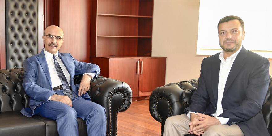 Vali Demirtaş'tan Başkan Kocaispir'e hayırlı olsun ziyareti